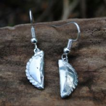 Cornish pasty earrings E83